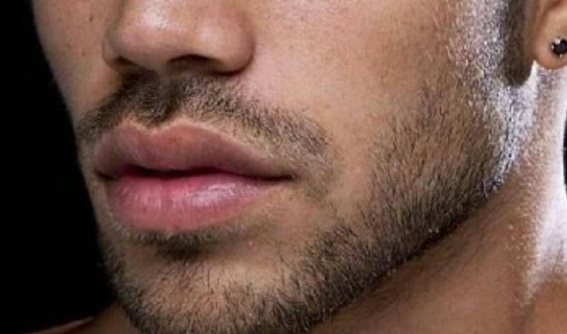 Male lips